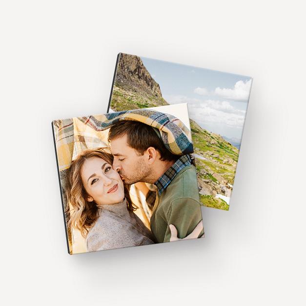 Ricevi un foto quadro gratis dall'app FreePrints Photo Tiles